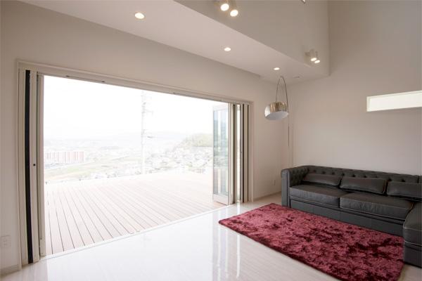 家の性能 大開口窓 高性能サッシ