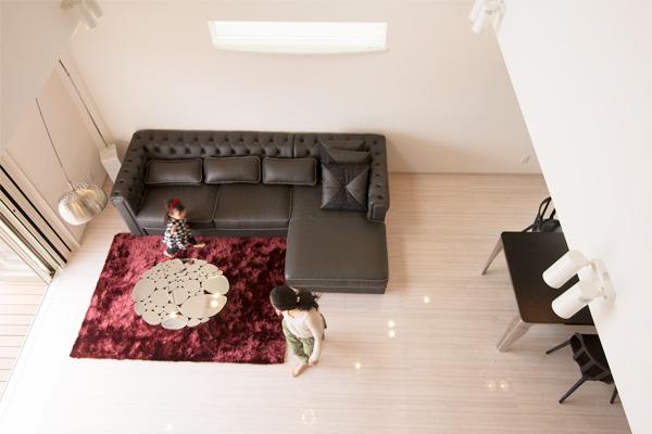 家の性能 広いリビング 30畳