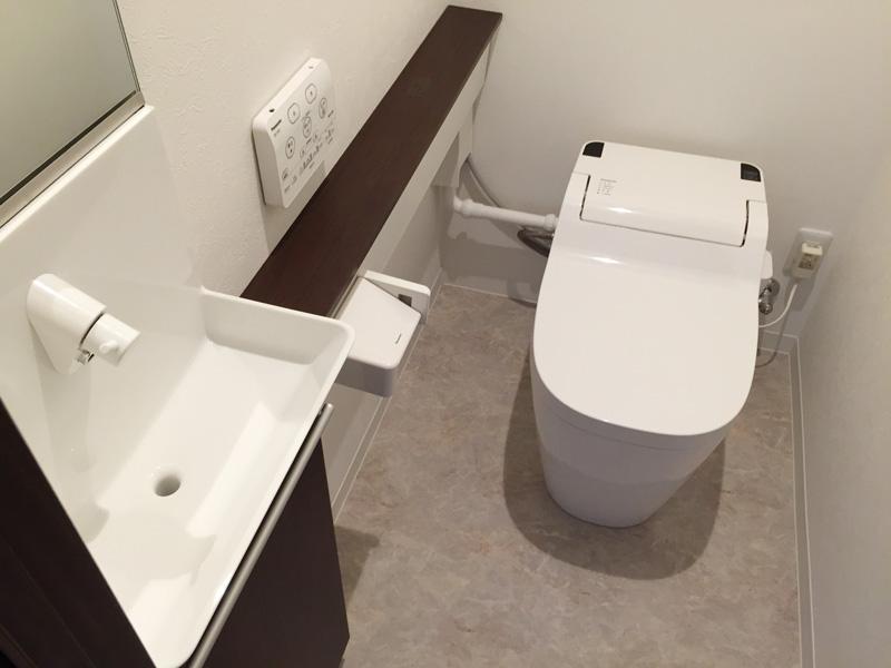 マンションリフォーム トイレ