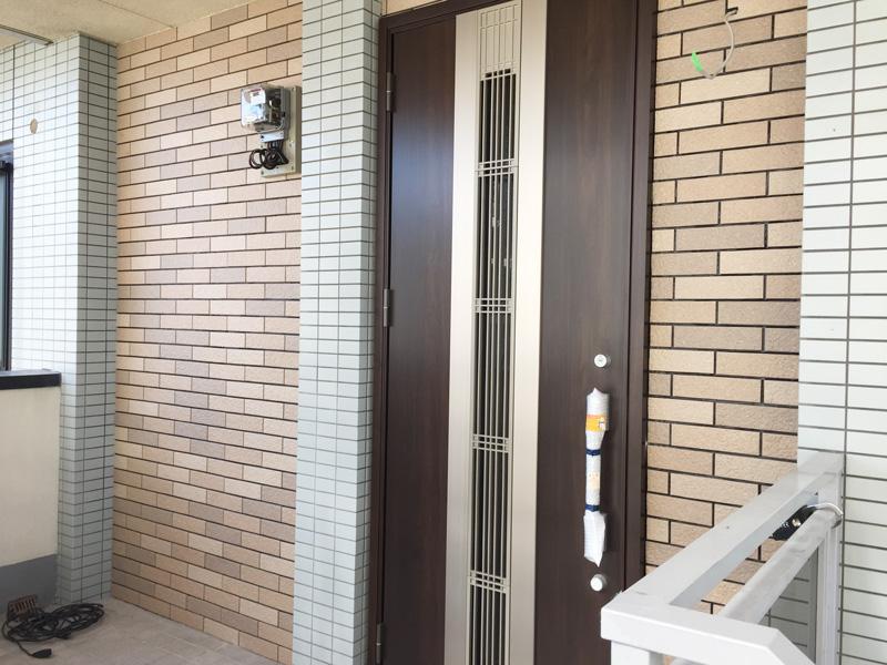 マンションリフォーム 玄関